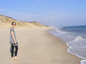 Eva in Cape Cod