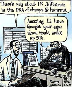 "From the blog, ""Ha! Tea 'n' Danger  http://hateandanger.wordpress.com/2013/07/15/ego-chimpanzee2/"