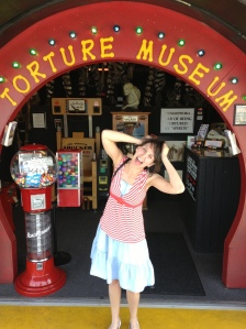 I seem to use this torture museum picture a lot to represent various aspects of my life.  That's probably not good...