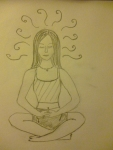 May Memories:  Why Meditation is Like Writing