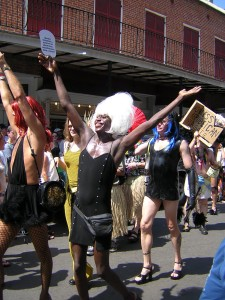 At the Southern Decadence Festival in New Orleans