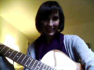 "I was going to record a video of me playing ""Wagon Wheel,"" but it sounded too awful.  I need to practice more first."