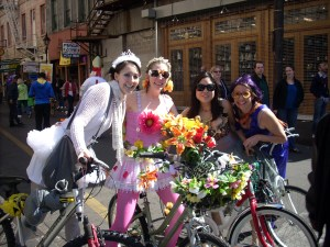 Me and some of my New Orleans friends -- Mardi Gras 2009