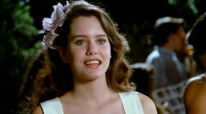 Ione Skye as Diane Cort in Say Anything   photo credit.
