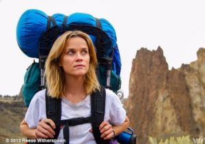 Reese Witherspoon as Cheryl Strayed in Wild.  photo credit