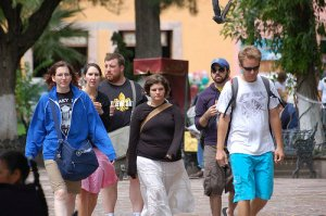 Here's a great picture Dinty took of me and my MFA classmates when we were in Mexico.