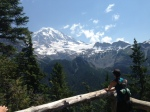 Hiking Mt. Rainier & Learning to Pause like a Yogi