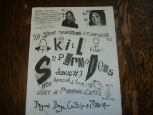 Kill Supermodels Issue #3 by Stephanie and friends.