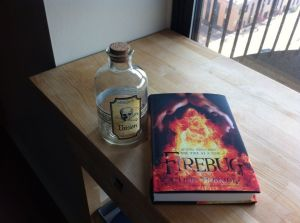 My Barnes & Noble purchases from Saturday:  Lish McBride's new novel, and a bottle of poison.