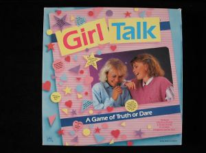 Girl Talk board game.