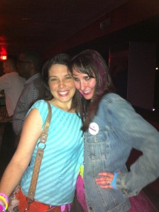 At my bachelorette party, my friend Leigha (pictured with me here at a club) was four and a half months pregnant.