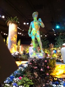 The Macy's Flower Show in downtown Minneapolis.