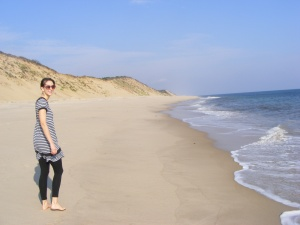 At the time I lived on Cape Cod, and I went for a LOT of walks!