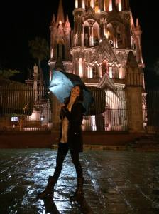 Eva in San Miguel.  (This was taken on July 3 -- my birthday!)