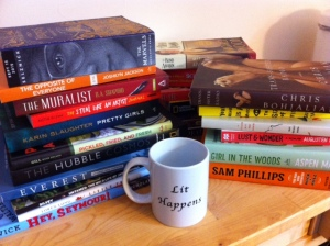I got a lot out of the SIBA conference this weekend -- like all of these free books!