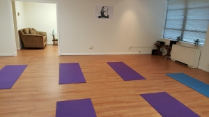 One of the pictures on the website. Where are the yoga students?