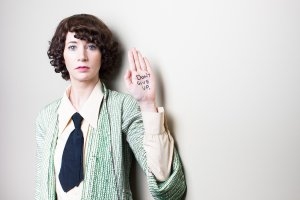 Miranda July, author of The First Bad Man, has a message for you for 2016. photo credit.