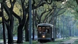 The Saint Charles Streetcar. (photo credit)