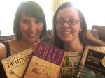 A New Monthly Feature:  Meagan & Eva's Middle Grade Bookshelf
